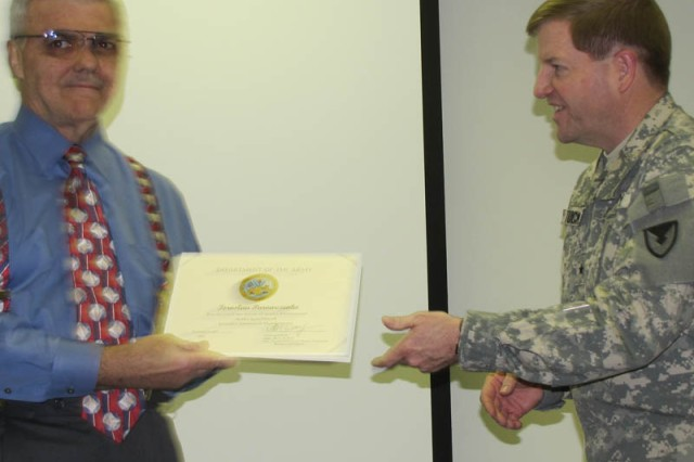 Ed Parowczenko, Completion of the Security Assistance Certification Program