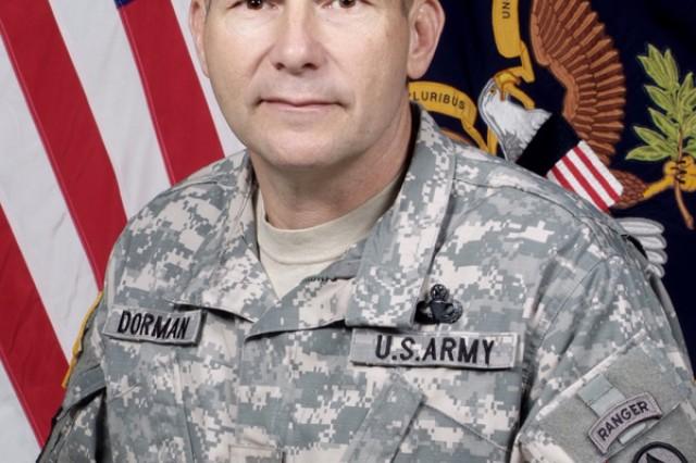 Col. Dorman, SDDC Deputy Commander