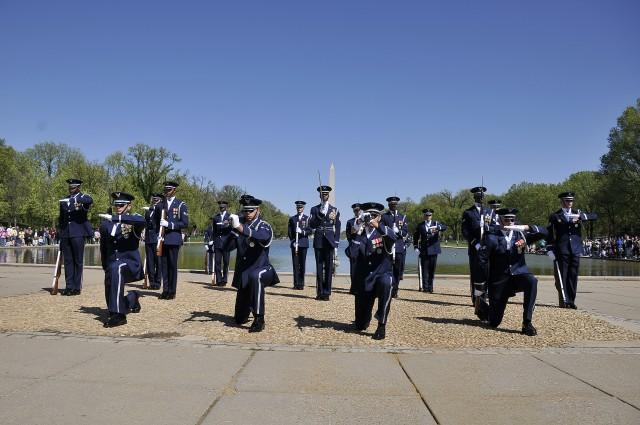 U.S. Air Force Honor Guard Drill Team