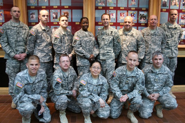 Madigan Army Medical Center Soldiers were honored March 31 during a Warrior Recognition Ceremony for their service to the country during an overseas deployment. These quarterly events recognize Soldiers who deploy under the Professional Filler System.