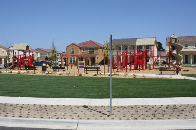 PRESIDIO OF MONTEREY, Calif. - The tot park at General Doe Park, Ord Military Community.