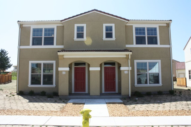PRESIDIO OF MONTEREY, Calif. - One of the new houses at General Doe Park in Ord Military Community.