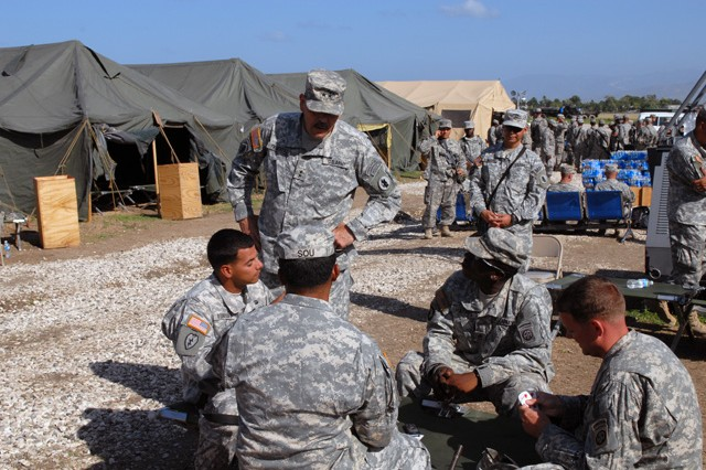 Army South supports Operation Unified Response