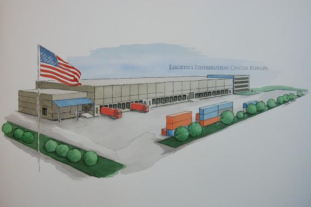 Germersheim logistics distrubtion center