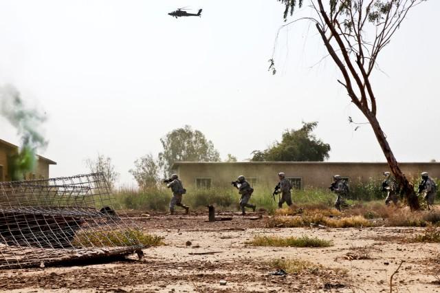 Iraqi security forces keep U.S. drawdown on track