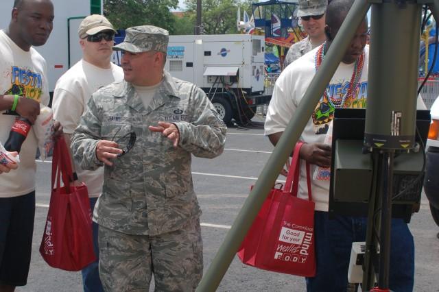 U.S. Army South participates in Fiesta