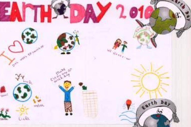 First place winner from Saint Dionysius, Municipality of Schinnen, in USAG Schinnen's Earth Day 2010 poster contest.
