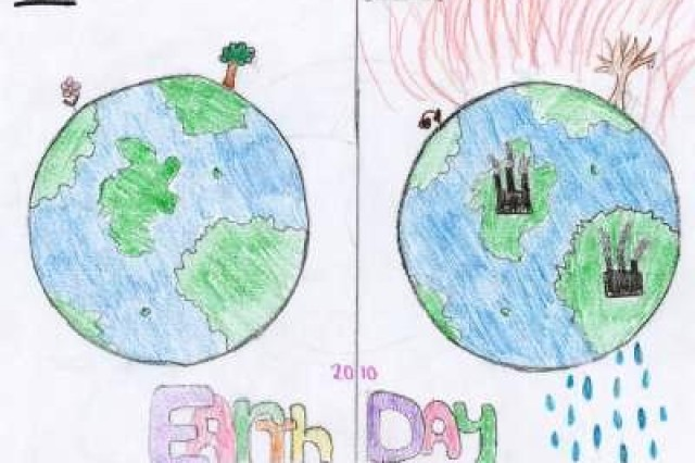 Second place winner from Saint Dionysius, Municipality of Schinnen, in USAG Schinnen's Earth Day 2010 poster contest.