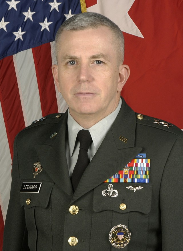 Maj. Gen. Kevin A. Leonard