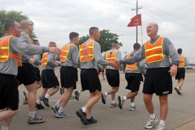 PHOTO: Ironhorse Soldiers participate in brigade run