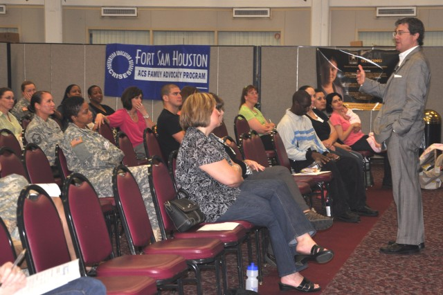 """Hal Runkel, licensed marriage and family therapist and founder of the Screamfree Institute presents  a """"Screamfree Marriages"""" seminar April 15 at Fort Sam Houston Army Community Service. Runkel has made guest appearances on the Today Show, The 700 Club and The Daily Buzz."""