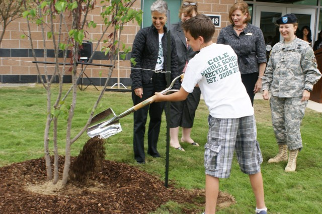 Earth Day Tree Planting