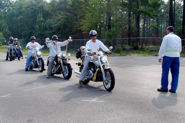 Special operations stresses motorcycle safety