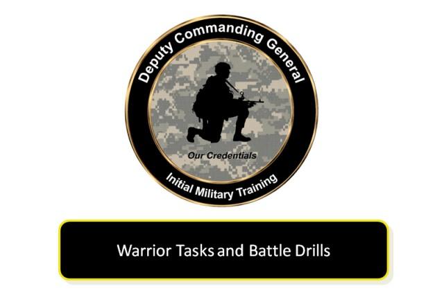 initial military training logo