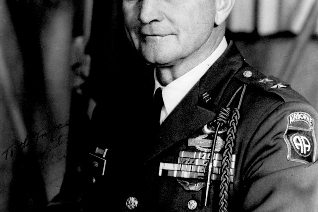 Major General Robert York, commander of the 82nd Airborne Division in 1965.