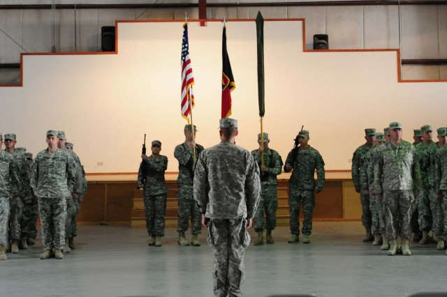 53rd IBCT Transfer of Authority Ceremony