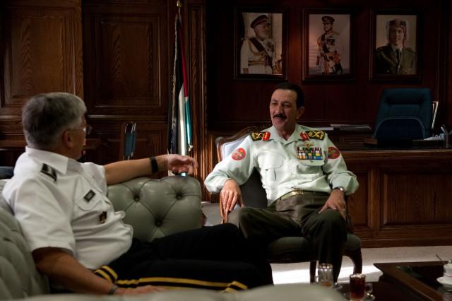 CSA meets with Jordanian CJCS