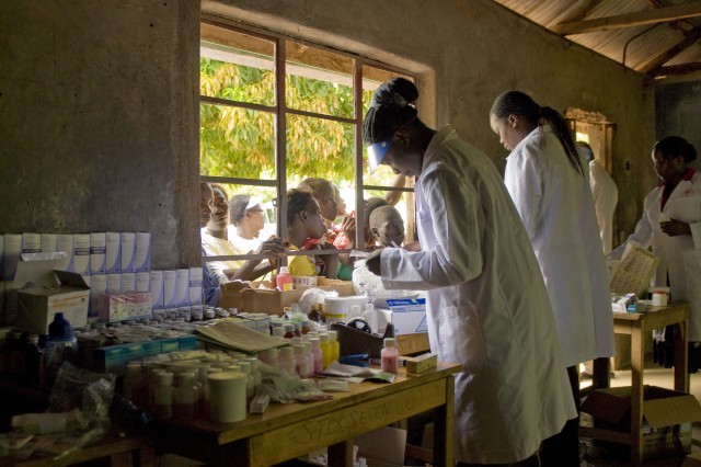 Army medical researchers in Kenya mark World Malaria Day 2010