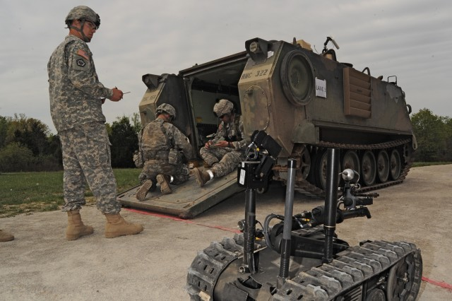 Best Sappers prepare Talon robot