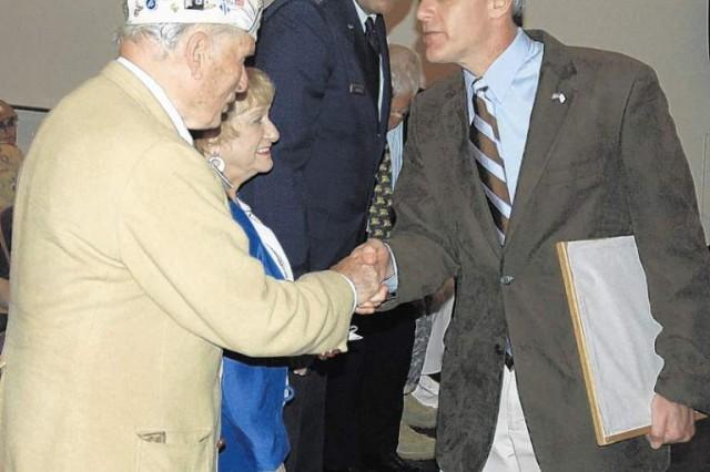 Jewish congregation joins celebration honoring British commander