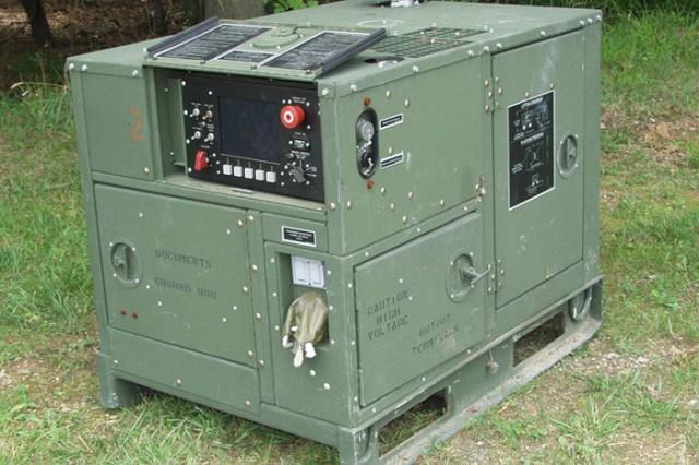 An AMMPS 5kW generator (U.S. Army photo)