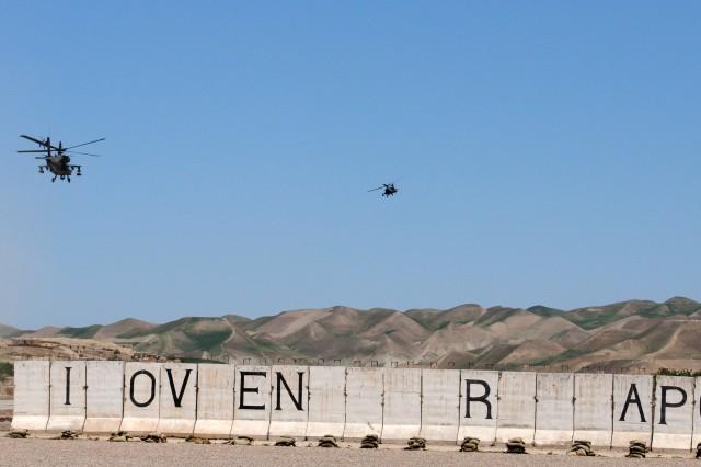 Task Force Destiny in Qual-I-Nah, Afghanistan