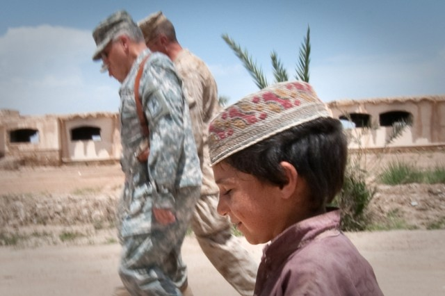 CSA with Afghan child