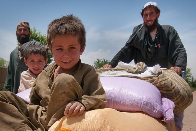 Child in Marja