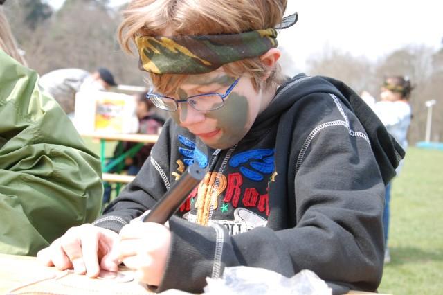 USAG Stuttgart gives back to military children