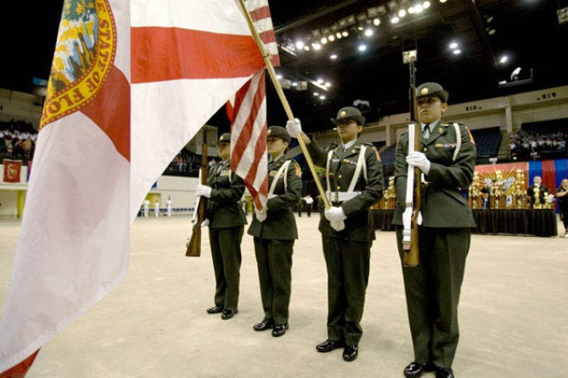 Alamo Heights Color Guard