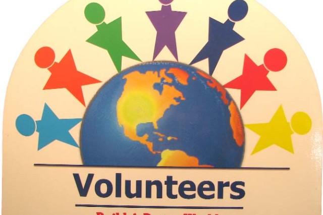 Volunteers: celebrating people in action