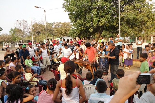 People of Nicaragua celebrate U.S. Army South's humanitarian mission
