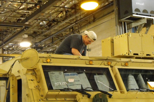 Army Sustainment Command - Forward steps up production for Afghanistan surge