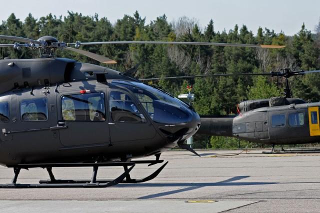 Lakota helicopters make USAREUR debut