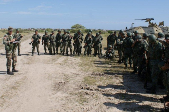 Mounted and Ready: U.S. Military trains with Ecuadorians on Mounted Operations