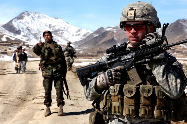 Policy chief 'cautiously optimistic' about Afghanistan
