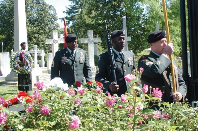Fort Lee honors James Monroe
