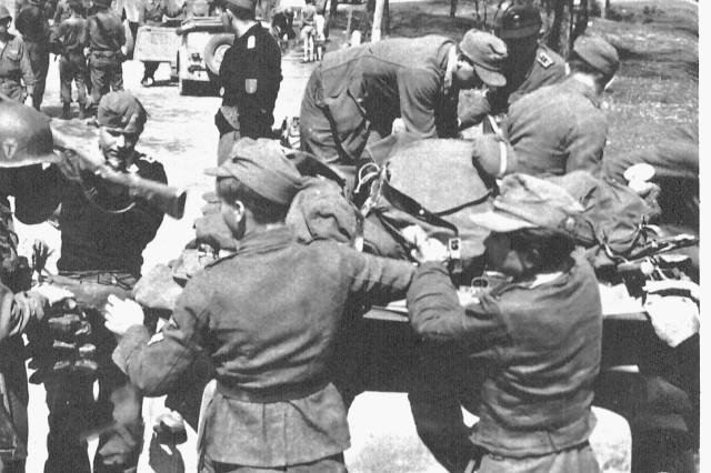German troops surrender