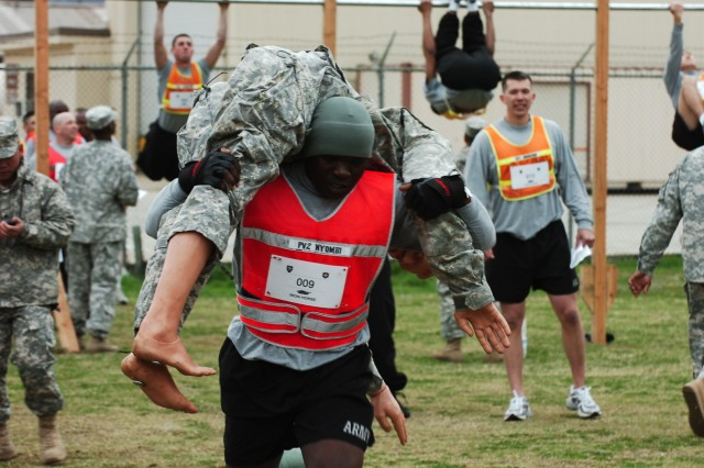 'Ironhorse' warriors compete in PT Challenge