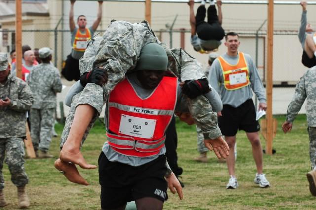 'Ironhorse' warriors compete in PT Challenge