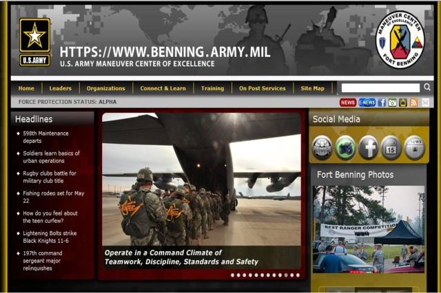 New MCoE Homepage