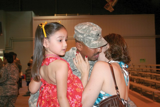 Fort Lee Soldiers return from Haiti