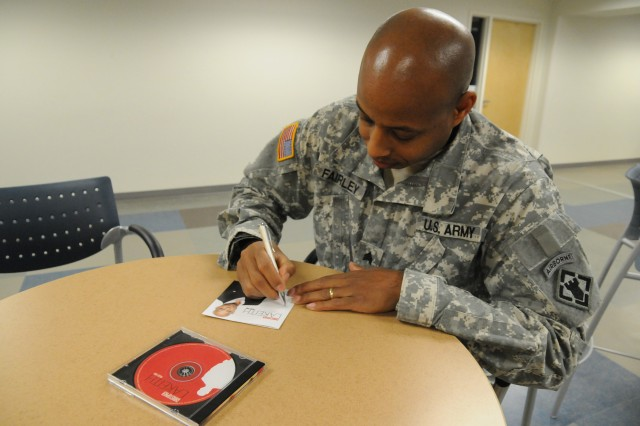 Fort Bragg Soldier to attend Army vocalist course