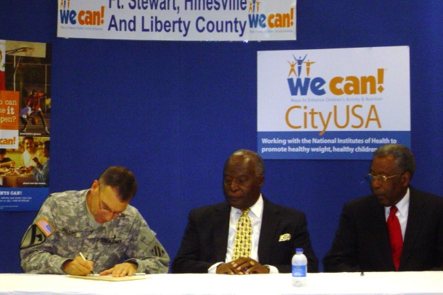 Winn signs We Can! campaign