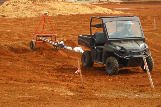 Geophysical investigation at Fort Campbell, Ky
