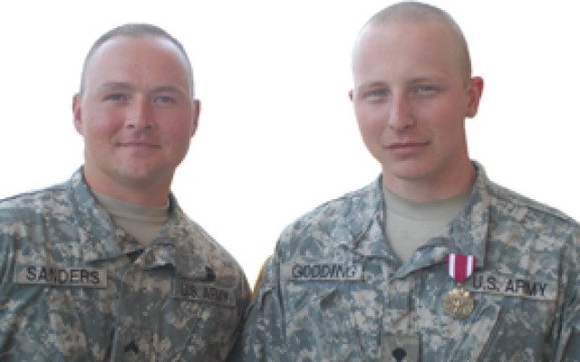 Soldier receives award for saving battle buddy's life
