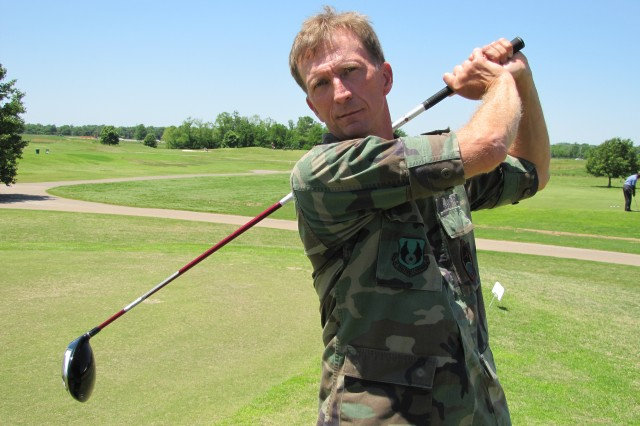 Mike Brady, an Air Force lieutenant colonel, shot 75-73-148 to win the post championship by seven strokes.