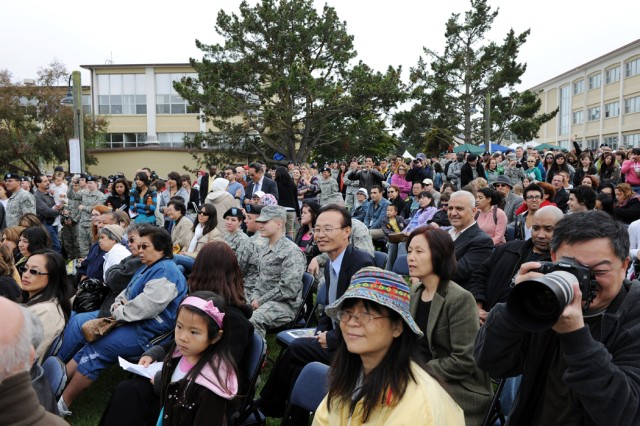 PRESIDIO OF MONTEREY, Calif. - Language Day brought over 3,000 visitors to the Presidio of Monterey May 14. The annual event showcases the various cultural displays and performing arts that are taught at the Defense Language Institute Foreign Language Center.
