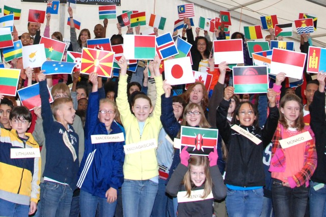 Garrison gathers world cultures 'under one roof'