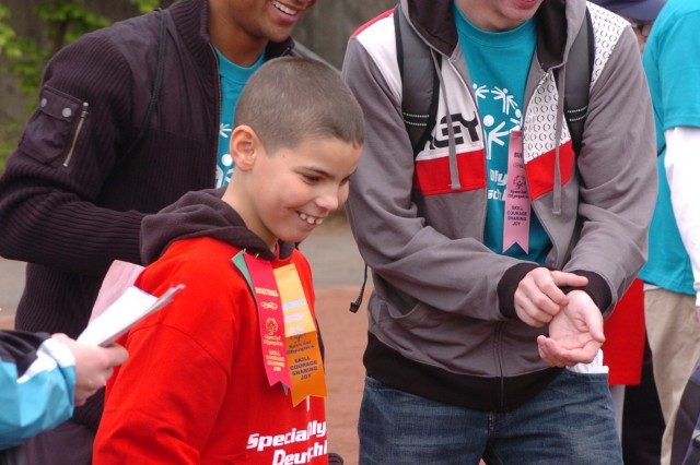 Everyone wins at Kaiserslautern Special Olympics